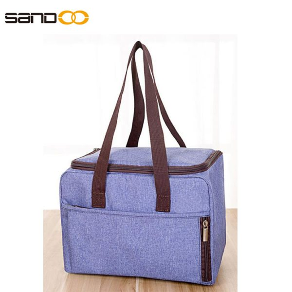 Women Tote lunch Bag, Insulated Lunch Box, Water-resistant Thermal Lunch Bag Soft Liner Lunch cooler Bags