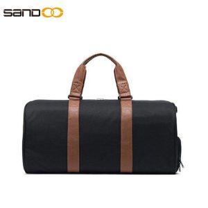 Unisex travel bag Weekender Bag with Shoes Compartment for Men