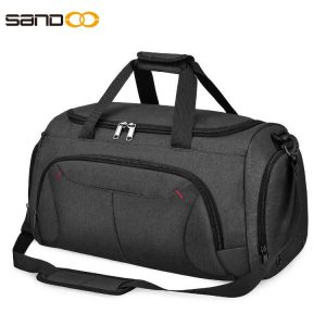 40L Gym Duffle Bag Waterproof Large Sports Bags Travel Duffel Bags with Shoes Compartment .