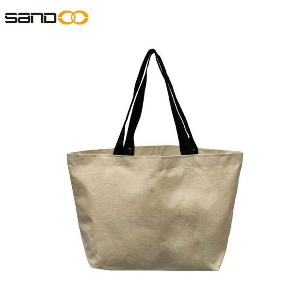 Extra Large Grocery Bag Beach Shopping Tote Heavy Duty 12 oz Cotton Canvas Multi Purpose 20 inches x 14 inches